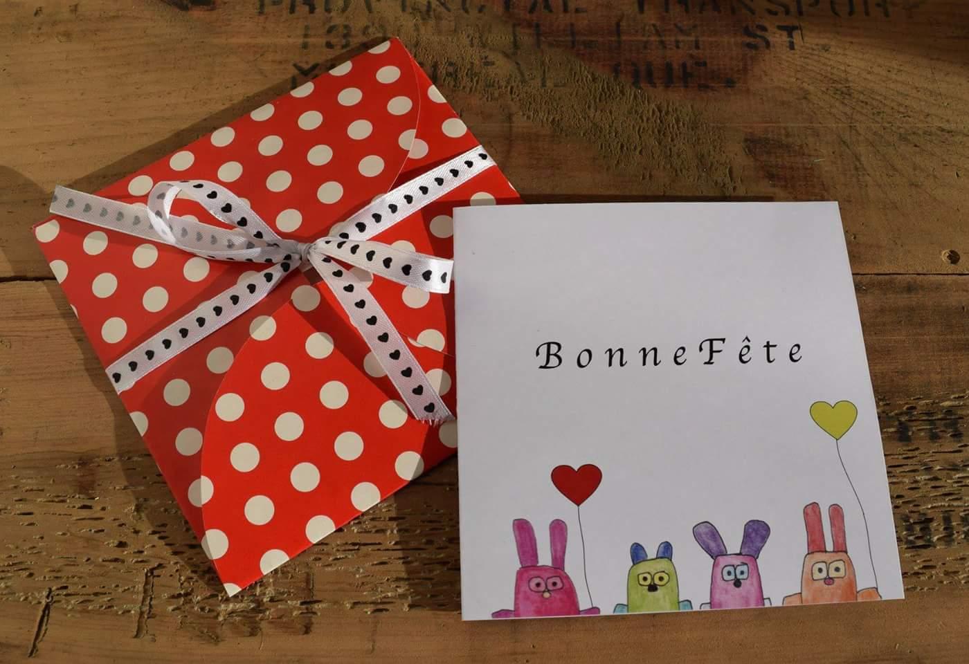 Cartes de souhaits et enveloppes en origami