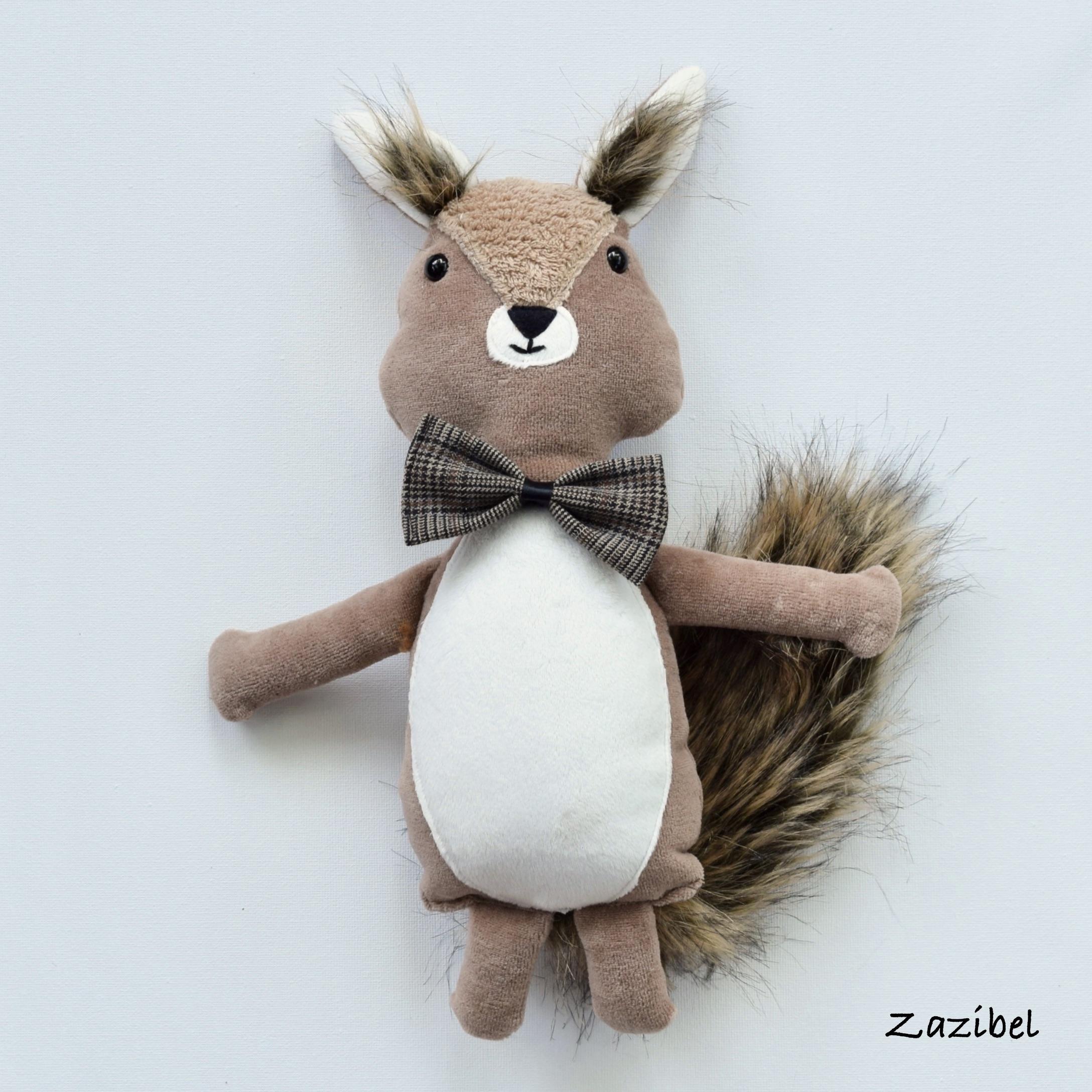 Peluches écureuils : douces et réconfortantes !